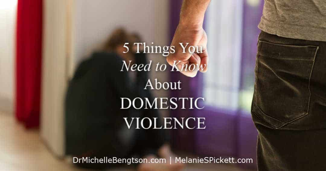 When you learn these 5 things you need to know about domestic violence, you can take steps toward healing.