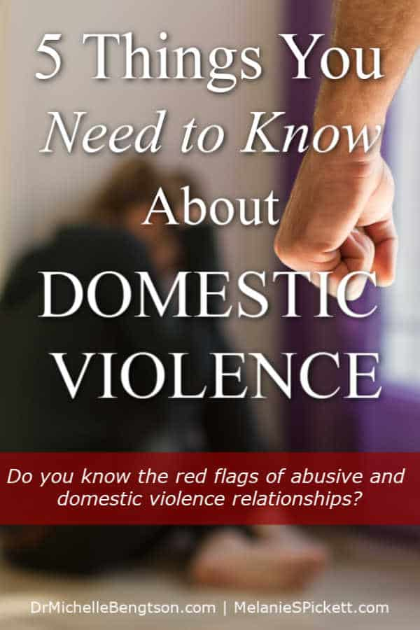 Have you been the victim of domestic abuse? Do you know the red flags of abusive and domestic violence relationships? You can avoid them and heal. There is hope. Read more for 5 things you need to know about domestic violence.
