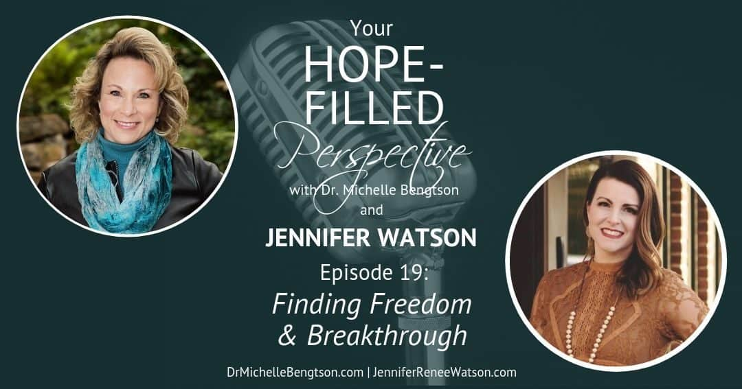 Finding Freedom and Breakthrough – Episode 19