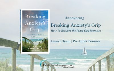 """Announcing """"Breaking Anxiety's Grip"""""""