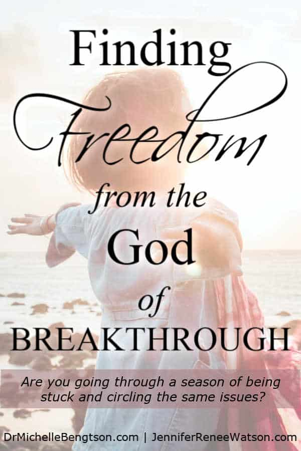 """We all have a story and a majority of them are messy ones, but each one can lead us to the intersection of breakthrough and letting go."" #FreedomBook. Read more for how to find freedom from the God of breakthrough."