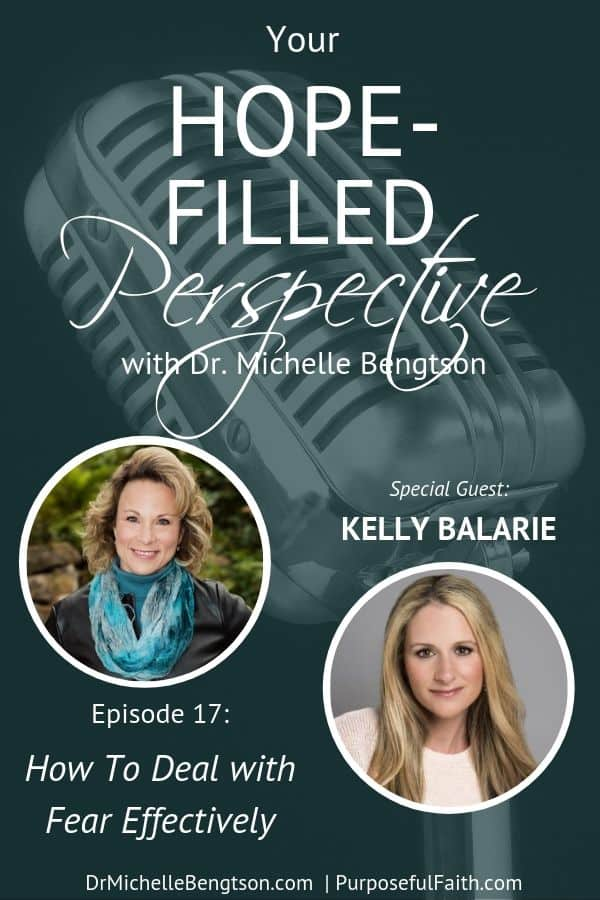 Have you ever wondered how to deal with fear effectively? In this episode, Kelly Balarie and I talk about training our mind to conquer challenges, defeat doubt, and tangible ways to take heart and live victoriously.