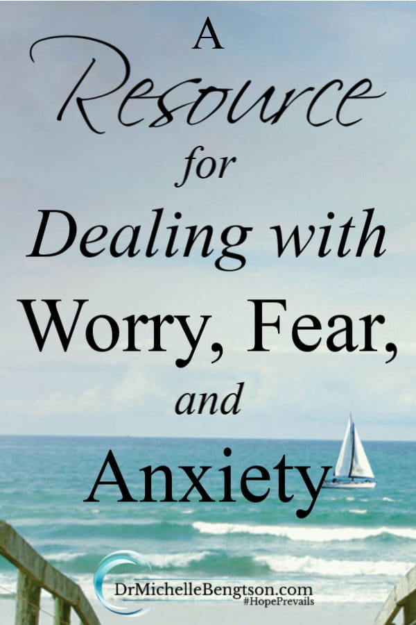 This resource provides the tools to cope with the crushing emotional burden of anxiety now and shows how to reclaim God's peace as a way of life so that the grip of anxiety can be broken. #mentalhealth #anxiety