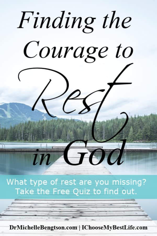 Have you ever juggled your need to get much done with your need to be restored through rest in God? Just as work is valuable, rest has great value. What type of rest are you missing? Take the free quiz to find out.
