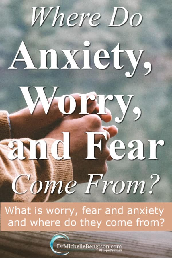 As a neuropsychologist for nearly three decades, I can spot the signs of worry, fear, and anxiety. They are so common, their called the common cold of mental illness. What is worry, fear, and anxiety and where do they come from? #BreakingAnxietysGripBook #anxiety #mentalhealth