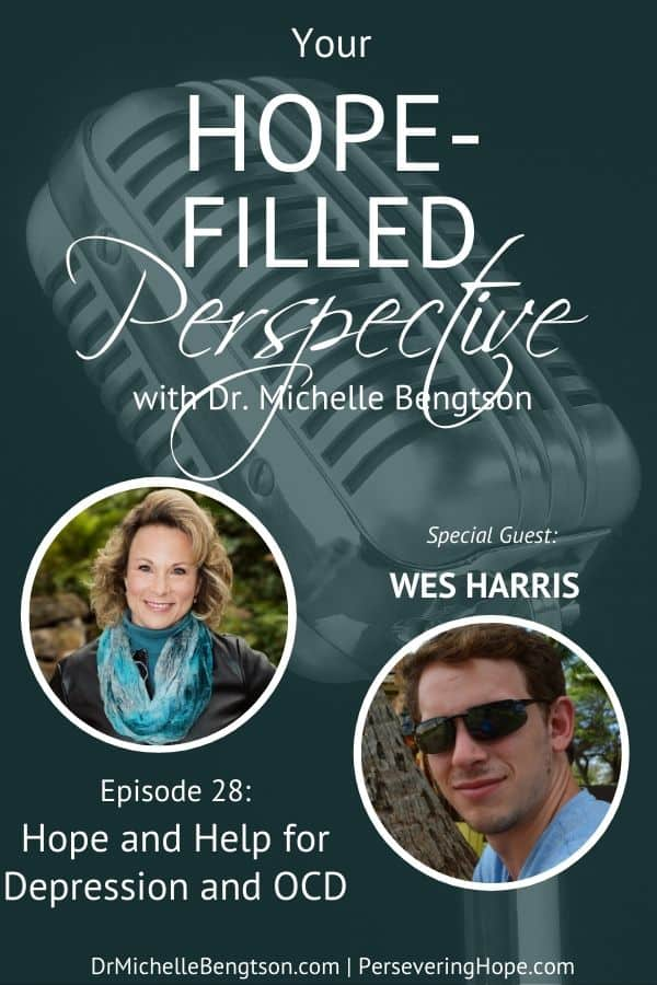 Depression and OCD do not have to rule your life. Our guest, W.R. Harris, has experienced both. In this episode, he shares about his experiences and the hope he found. #depression #OCD