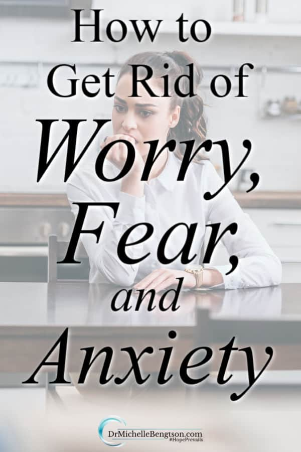Getting rid of worry, fear, and anxiety means war. It requires that we actively battle. They are not our portion, but peace is. Read more for tips on how to get rid of worry, fear, and anxiety so you can live in peace. #BreakingAnxietysGripBook #anxiety #mentalhealth #PeacePrevails