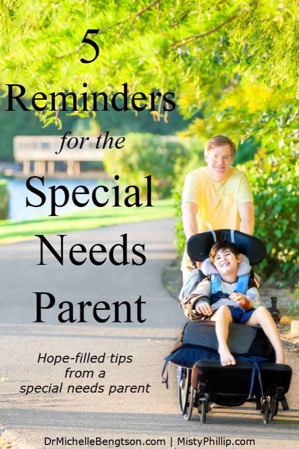 Parenting a special needs child can be quite challenging. Misty Phillip shares important reminders that she learned through the trials her family endured with raising a special needs child who is now an adult. #parenting #specialneeds