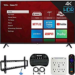 "65"" Roku Enabled TV Bundle"