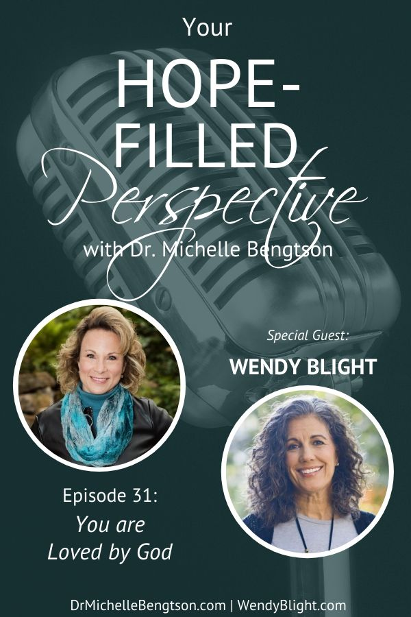 If you have ever felt like God didn't or couldn't love you, then this show is the perfect show for you. My guest, Wendy Blight, shares how to know and truly receive God's love. #Godlovesyou #lovedbyGod #faith