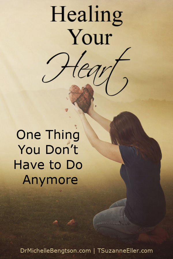 We all have areas of brokenness in our lives. Read more as Suzie Eller shares about healing your heart and what that looks like. She also shares one thing you may be doing that you don't have to do anymore. #trustingGod #faith