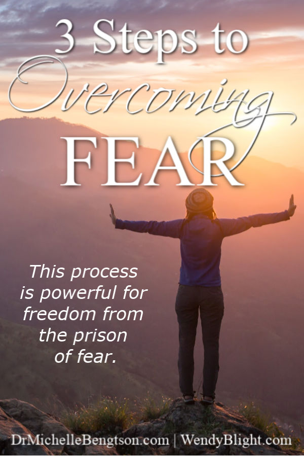 "Fear will come. Conditional ""mights"" will come. It's what we do with them that matters. Wendy Blight shares three steps to overcoming fear using truths from the Bible. With God's word, you can overcome fear! #Bible #fear"