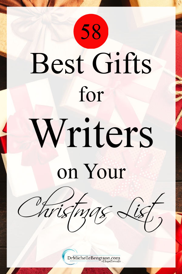 As an author, and one who has many writer friends, I curated this list of my top recommendations for the best gifts for writers. They're not just for Christmas! Great for birthdays and other days throughout the year, too. #Christmas #gifts