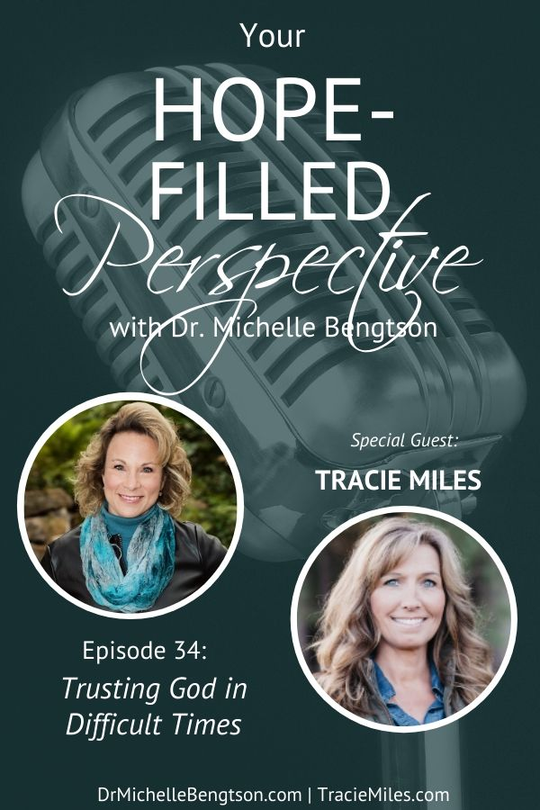 Tracie Miles has walked through several difficult valleys in recent years. She shared not only the journey she has been on, but how she learned to cope and find joy again. She shared about trusting God in difficult times. #trust #God #faith