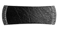 Celtic leather hair clip