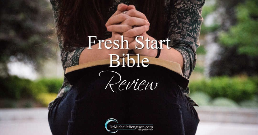 The Fresh Start Bible is a great way to engage or re-engage with God's Word.