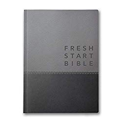 The Fresh Start Bible Deluxe version in imitation leather