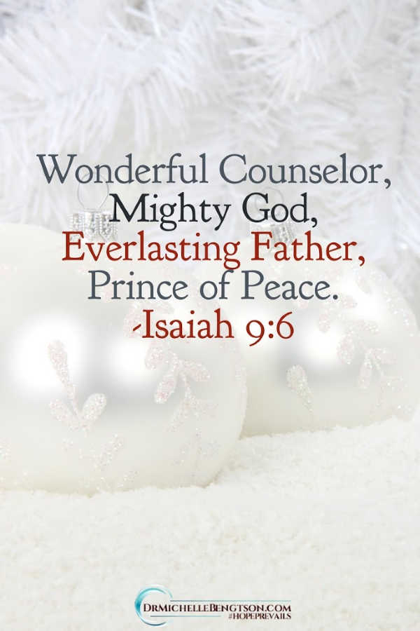 Isaiah 9:6 reminds us that Jesus came as our Prince of Peace. In the busy holiday season, remember the who the Source of peace is. Read more for ways to simplify and create a more peace at Christmas and through the year. #peace #Christmas