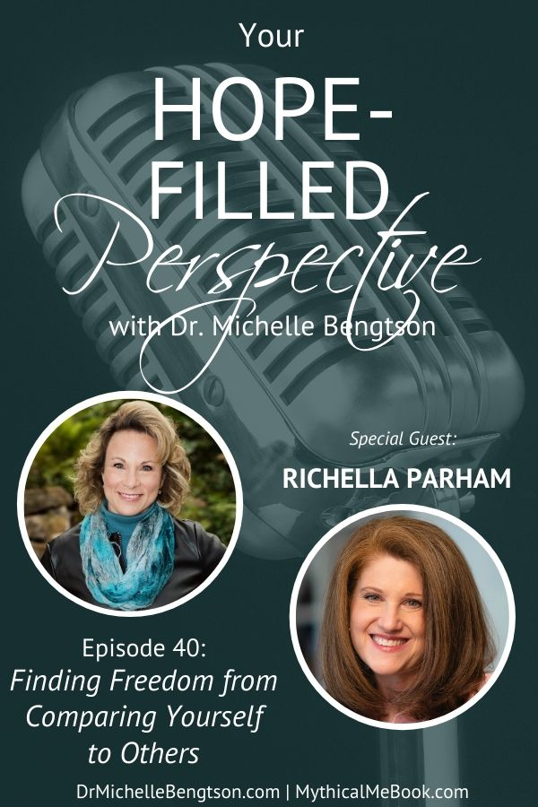 Have you ever struggled with comparing yourself to others? Or, wishing you were someone else? Join me with guest, Richella Parham, as we talk about the trap of the comparison cycle, its effect on us, and how we find freedom. #comparisontrap #insecurity #mentalhealth