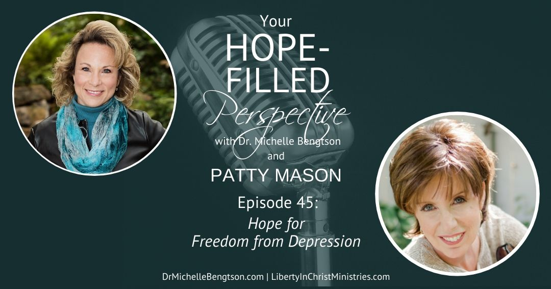 Patty Mason found freedom from depression. Join us as she shares how.