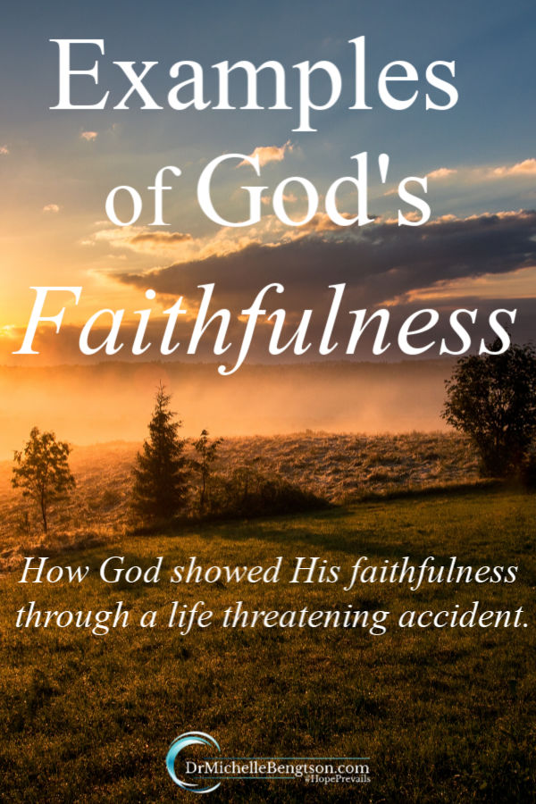 In an accident as a young girl, Gina Kelly suffered life threatening injuries. Read more as Gina shares examples of God's faithfulness at the time and in the years since. She also shares how God has used her trials to bring her closer to Him and gave her a testimony that brought others to faith in Jesus Christ.  #God #faith #Godsfaithfulness