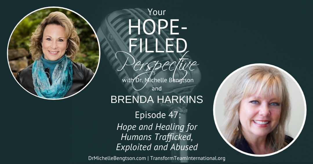 Sharing the hope and healing available for humans trafficked, exploited and abuse.