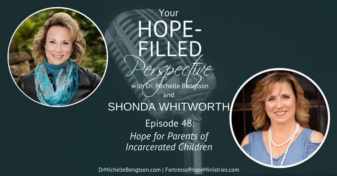 Shonda Whitworth shares the heartache of her experience and how she learned there is hope for parents of incarcerated children.
