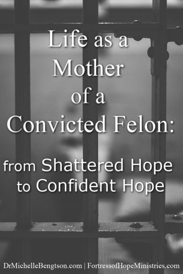 Shonda Whitworth never imagined she would be the mother of a convicted felon. She did all the things a godly mother would do when raising a child. But, what do we do when our dreams, visions, and hope for our lives shatters? Read more for how her shattered hope for her son's future turned into confident hope. #incarceration #prison #faith #Christian