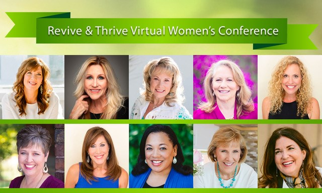 Join us for the Revive and Thrive Virtual Conference