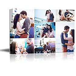 Custom canvas print collage for photos