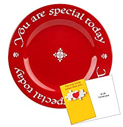 You are special today plate
