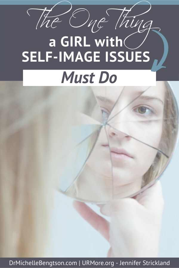 The identity of a girl with self-image issues is based on a lie. But we can break the grip of those lies. Read more for one thing a girl with self-image issues must do to find help, hope, and healing. #identity #comparison #selfimage