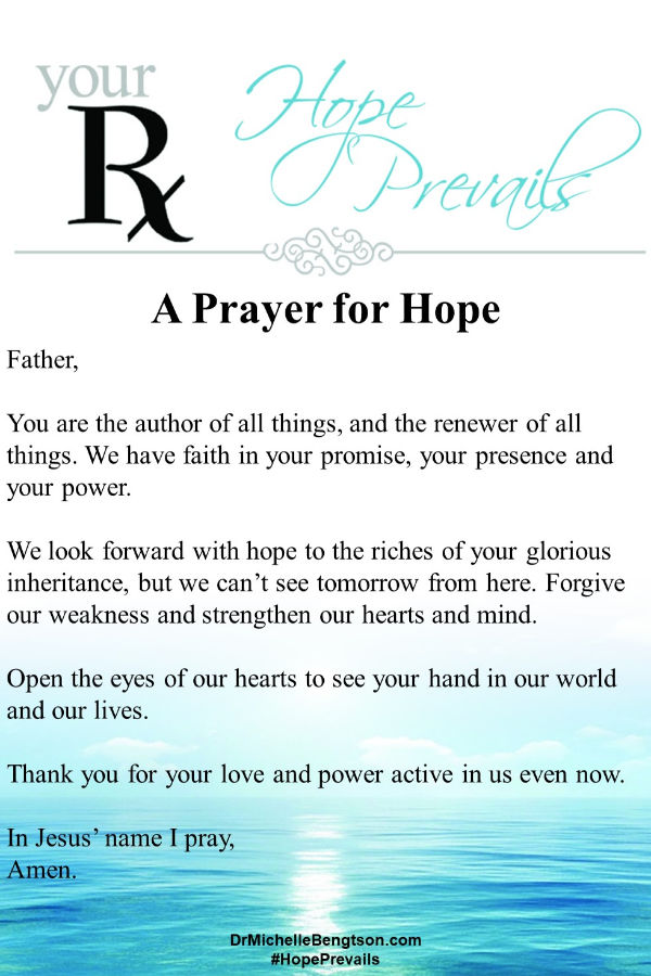 A prayer for our hope to be renewed and our hearts and minds strengthened. Read more for what hope really is and how to find it. #hope #faith #Bible