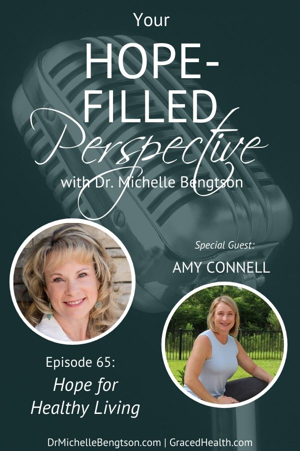 Am I taking care of my body the way God wants me to? In this podcast, personal trainer Amy Connell, shares hope for healthy living. What we eat and the way we move our body doesn't have to be perfect. We can approach our health with a spirit of grace.