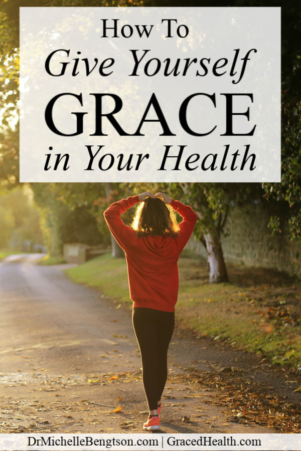Life is better with grace. Learn 5 ways (based on an acronym) you can give yourself GRACE in your health. Click through to learn how you can embrace the grace.