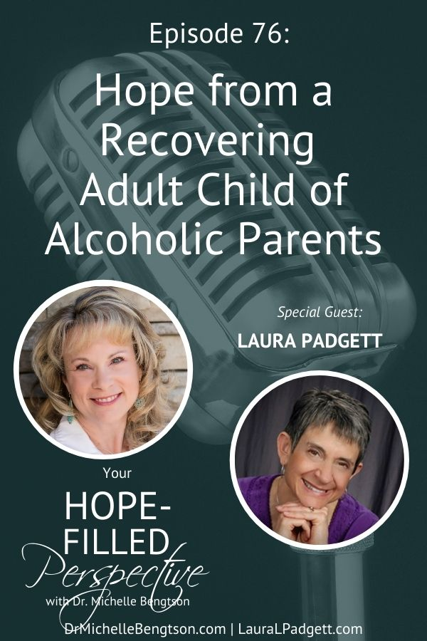 Join me with Laura Padgett as we discuss what it's like to be a recovering adult child of two alcoholic parents, and how even in such a difficult situation, God pursues us. God has grace and love for us no matter where we come from or what our lives have been like. #alcoholicparents #faith #hope #God