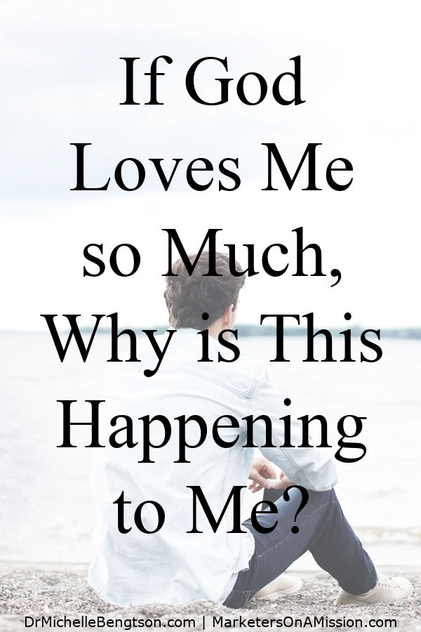 Popular Christianity proclaims that God wants us to be happy, He guarantees He'll keep us from all harm, and when we call upon Him, He'll deliver us. Then, we face hardships and wonder, If God loves me so much, why is this happening to me?