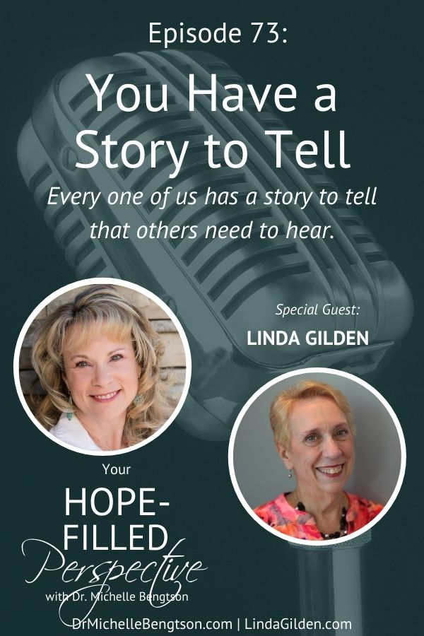 Every one of us has a story to tell that others need to hear. Today's guest is going to help us know if we've been called to write that story, and how understanding the different personality types will help us connect better with our readers. #writer #podcast #writeyourstory