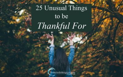 25 Unusual Things to be Thankful For