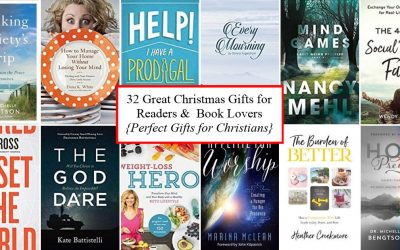 32 Great Christmas Gifts for Readers and Book Lovers {Perfect for Christians}