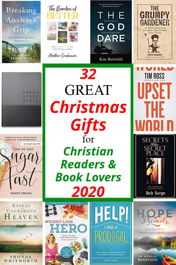 If you have a bookworm on your shopping list, look no further! These 32 great gifts for readers and book lovers are perfect Christmas gifts for Christian readers. #Christmas #bookworm #booklover #reader #gifts