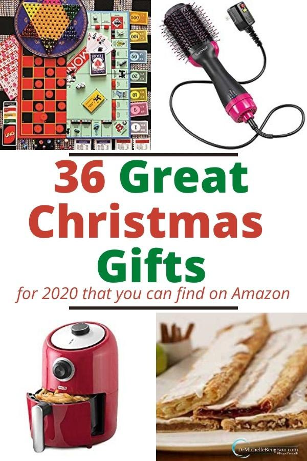 Stress less this holiday season with this list of 36 Great Christmas Gifts for 2020 that you can find at Amazon. Take care of your shopping. Lighten the load and shop from home using this list of handpicked items! #Christmas #gifts