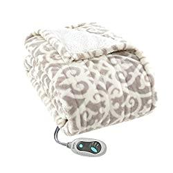 Heated Poncho/Wrap Blanket/Throw