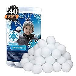 Indoor Snowballs for Hours of Family Indoor Fun