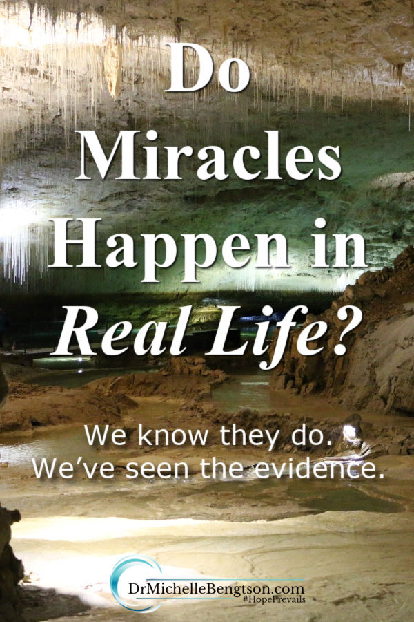 When faced with a death sentence, my husband and I discovered that God still performs miracles today. We know miracles happen in real life, we've seen the evidence. Read more for stories of two miracle men. #miracleman #God #faith #hope
