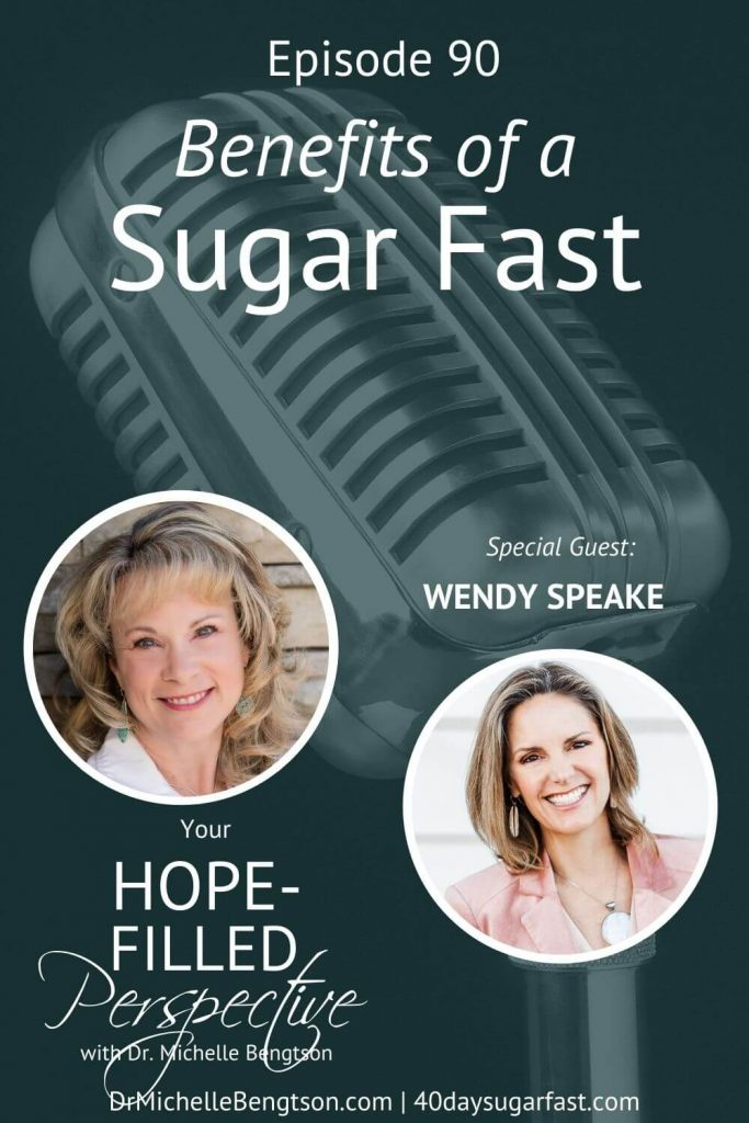 Sugar is a stronghold for many people. But, fasting opens the door for the supernatural work of God! In this episode, Wendy Speake and I talk about how we can exchange our physical addictions to food or sugar for spiritual transformations. We explore what fasting is, why should we consider it, and what are some of the surprising benefits. #sugarfast #fasting #transformation