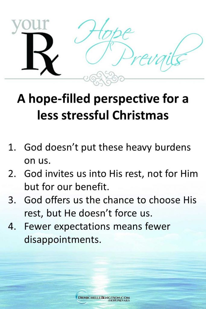 Change your perspective on Christmas to reduce your stress. Join us on the podcast for helpful, practical tips for a peaceful holiday. #Christmas #stress #peace
