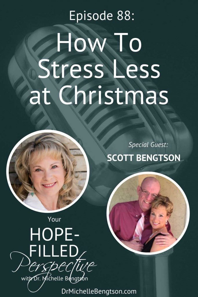 In this podcast, we talk about stressing less at Christmas. That picture-perfect Norman Rockwell Christmas we may and even strive for is fictitious and exhausting. How do we draw the line between enough and too much? #podcast #Christmas #stress