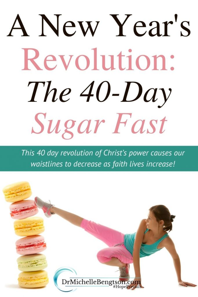 When we struggle with sugar addiction and food fixation, we don't need another resolution… and we don't need more resolve. What we need is more of Jesus. Not a resolution that we make, but a revolution that He makes… in us. We need a Jesus-revolution in our lives to transform our eating (and drinking too). #fasting #newyearsresolution #sugarfast