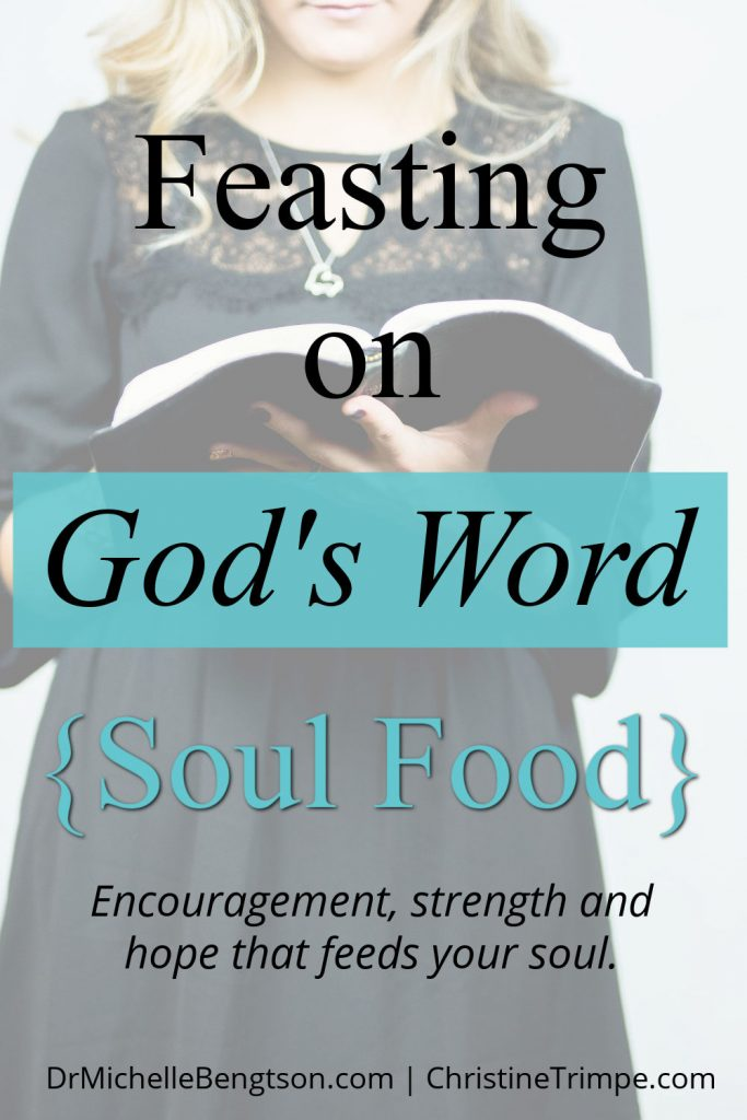 Have you ever faced circumstances that feel like the perfect storm? Where do you turn for encouragement, strength and hope to feed your soul? Christine Trimpe shares how she finds hope in God's word. #hope #faith #Christianity #Bible